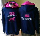 Yes i smell like a horse NO i don't consider that a problem   HOODIE