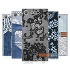 HEAD CASE DESIGNS JEANS AND LACES HARD BACK CASE FOR SONY XPERIA XZ1