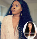 Indian Remy Curly Hair Lace Front Wigs Huamn Hair African American Hair Wigs 130