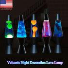 Metal Base Wax Lamp Volcanic Night Light Dazzling Lava Lamp for Home Decoration
