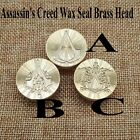Assassin's Creed Wax Seal Pure Brass Head Professional Diameter 25mm DIY Head
