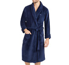NEW With TAGS Tommy Bahama Men's Bathrobe Blue Plush Fleece Robe PICK SIZE