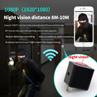 2017HD Wifi Led Night Vision Light Spy Hidden Camera Adapter AC Wall Charger V10