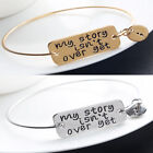 My Story isn't Over Yet Bangle Bracelet Mental Health Awareness Jewellery Gifts