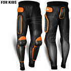 Kids/Child Body Armour Motorcycle Trouser Snowbaords Skating Pants MX Protection