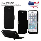 4200mAh External Battery Charger Case w/Flip Cover Power Bank for iPhone 5/5S/5C