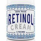 Retinol Cream Moisturizer For Face And Eyes, Use Day Night - Anti Aging, Acne,