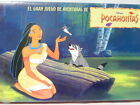 POCAHONTAS BOARD GAME AMAZING COVER ILLUSTRATION SHOWS NONUSE