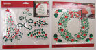 U CHOOSE  Assorted Jolee's HOLIDAY BLING 3D Stickers Christmas trees wreath
