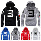 US 2018 Men's Fleece Hoodies Eminem Printed Pullover Sweatshirt Sportwear HE