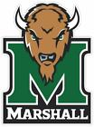 Marshall University Thundering Herd Vinyl Sticker Decal *sizes* Cornhole Wall