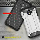 For Samsung Galaxy J2 Pro 2018 Cover Rugged 2 Layer Heavy Duty Hybrid Hard Case