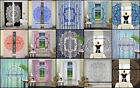 Ombre Mandala Cotton Door Curtains Valances Ethnic Indian Window Curtains Decor