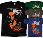 James Bond: From Russia with Love V3, movie, T-Shirt (BLACK) All sizes S to 5XL $23.97 CAD on eBay