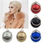 Women Round Ball Shoulder Messenger Bag Party Evening Clutch Fashion Phone Purse