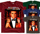 James Bond: Never Say Never Again V6, movie, T-Shirt (BRICK) All sizes S to 5XL $26.16 AUD on eBay