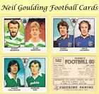 PANINI 'Football 80' (1980) Stickers #518 to #582 (Scottish Clubs)
