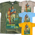 James Bond 007, movie poster, 1989 T SHIRT all sizes S to 5XL $23.38 CAD on eBay