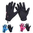 Cold Weather Thermal Warm Fleece Lined Gloves Driver Driving Working Touchscreen
