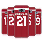 LIVERPOOL FC LFC PLAYERS HOME KIT 17/18 GROUP 2 BACK CASE FOR SAMSUNG PHONES 1