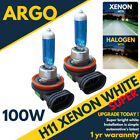 H11 100w (711) Super White Xenon HID Effect Headlight Fog Light Bulbs 8500k 12v