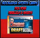 drafting your own will - 2016 Bowman Draft Parallels & Ref (Pick Your Cards)