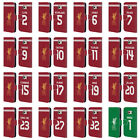 LIVERPOOL FC LFC PLAYERS HOME KIT 17/18 1 LEATHER BOOK CASE FOR SAMSUNG PHONES 1