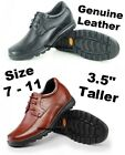 """3.5"""" Men Casual Elevator Height increase Dress shoes size 7 8 8.5 9 9.5"""