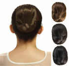 Classic Clip In Bun Piece Cover on Hair braid Updo Extensions Donut Roller H06