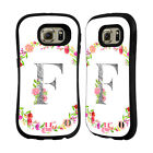 HEAD CASE DESIGNS DECORATIVE INITIALS HYBRID CASE FOR SAMSUNG PHONES