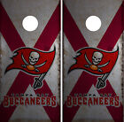 Tampa Bay Buccaneers Cornhole Wrap NFL Skin Game Board Set Vinyl Decal CO19 $39.95 USD on eBay