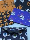 Mini Halloween  Envelopes  eyeballs, witches, day of dead Set of 5 Hand Crafted