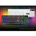 Gaming Keyboard and Mouse Set Kit Wired USB for Computer PC Multimedia Pro Gamer