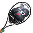 HEAD MXG 5 Black Tennis Racquet Racket Sports Bag CV 105 sq 275g 16X18 4 1/4