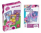 MY LITTLE PONY SNAP / HAPPY FAMILIES Kids Playing Cards Travel Toys Games NEW