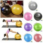 Exercise Ball 55cm 45cm 85cm Yoga Workout Fitness Balance Ball Work Chair  yoga ball yellow | Yellow Ball Puncture 1324780273244040 1