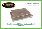 SCRUFF'S INSECT SHIELD MATTRESS, PET BED, INBUILT PROTECTION, WASHABLE - LARGE