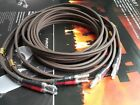 1Pair 2.5meter Audiophile high performance Speaker Cable