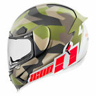 Icon Airframe Pro Deployed Full Face Helmet Camo/White/Red