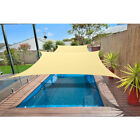 Alion Home© 9.5' x 15'  Rectangular PU Waterproof Terylene Polyester Shade Sail