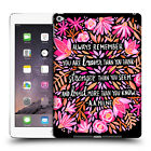 OFFICIAL CAT COQUILLETTE QUOTES TYPOGRAPHY 6 HARD BACK CASE FOR APPLE iPAD