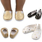 Glitter Doll Shoes Star Dress Shoe For 18 Inch Our Generation American Girl Doll