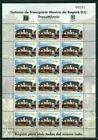 COLOMBIA 2003 TRANSMILENIO PUBLIC TRANSPORT SHEET X18 STAMPS - MNH