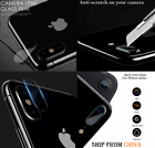 Flexible SOFT Tempered Glass Back LENS Camera Protector iphone X XS XR 6 7 8 Cam