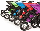 out about nipper - Out 'N' About NIPPER DOUBLE V4 & Rain/Wind Cover Baby Pushchair/Buggy