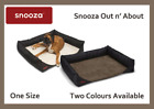 SNOOZA OUT N' ABOUT DOG BED, FITS MOST WAGONS & 4WD'S, REVERSIBLE & WASHABLE