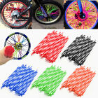 bicycle wheel spoke covers - 72Pcs Wheel Spoke Wraps Rim Covers Skins Guard Protector For Motocross Dirt Bike