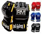 RingMasterUK MMA Gloves Grappling Training Cage Fight Punch Mitts UFC Bag Pads