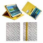 Universal Executive Wallet Case Cover Folio Fits Archos Core 101 3G V2 Tablet PC