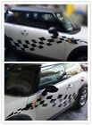 what is a coupe car - Checkered Side Body Sticker Decals decal for all Mini Coupe Cooper Countryman